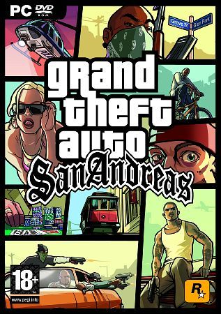 Image result for GTA San Andreas cover pc
