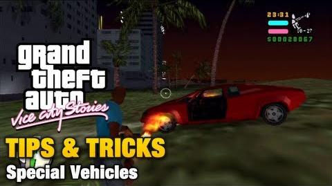 Special Vehicles in GTA Vice City Stories