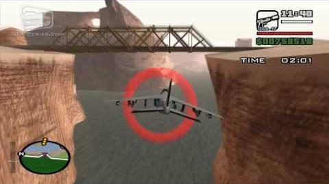 GTA San Andreas - Walkthrough - Air Race - Military Service (HD)