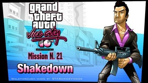 GTA Vice City - iPad Walkthrough - Mission 21 - Shakedown