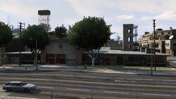 El Burro Heights Fire Station No 7 GTAV Full View