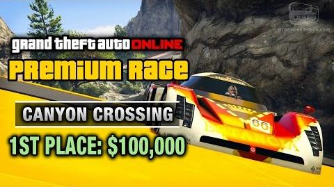 GTA Online - Premium Race 6 - Canyon Crossing (Cunning Stunts)