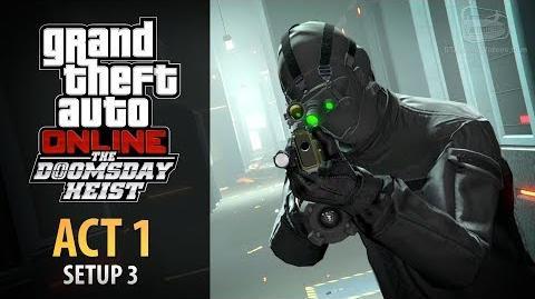 GTA Online Doomsday Heist Act 1 - Setup Server Farm (Elite & Mastermind II)