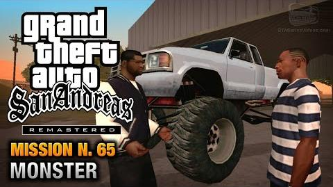 GTA San Andreas Remastered - Mission 65 - Monster (Xbox 360 PS3)