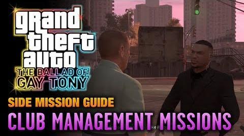 GTA The Ballad of Gay Tony - Club Management Missions (1080p)