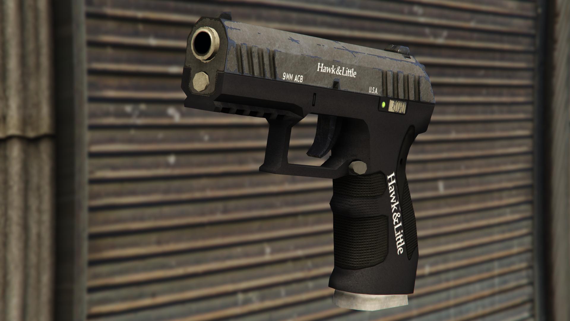 gta rp double barrel shotgun