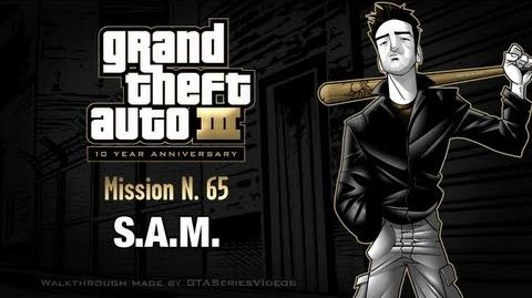 GTA 3 - iPad Walkthrough - Mission 65 - S.A.M.