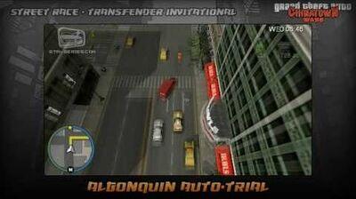 GTA Chinatown Wars - Walkthrough - Street Race - Transfender Invitational - Algonquin Auto-trial