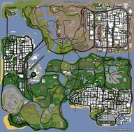 San Andreas Map