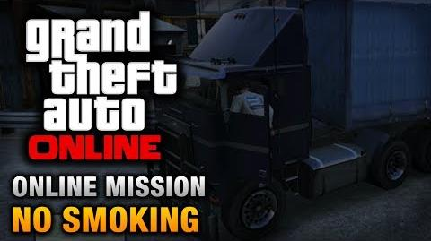 GTA Online - Mission - No Smoking Hard Difficulty