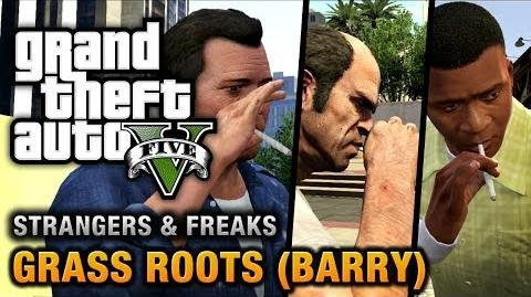 GTA 5 - Barry Grass Roots Michael, Trevor and Franklin