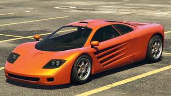 The GP1 In Grand Theft Auto Online.(Rear Quarter View)