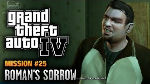 GTA 4 - Mission 25 - Roman's Sorrow (1080p)