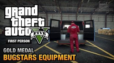GTA 5 - Mission 14 - Bugstars Equipment First Person Gold Medal Guide - PS4