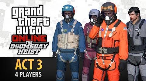 GTA Online The Doomsday Heist Act 3 - The Doomsday Scenario (Elite & Criminal Mastermind IV)