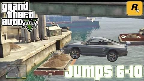 GTA5 Stunt Jumps 6-10 (Tutorial) Grand Theft Auto V PS3 Xbox 360 ᴴᴰ
