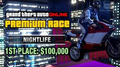 GTA Online - Premium Race 22 - Nightlife (Cunning Stunts)