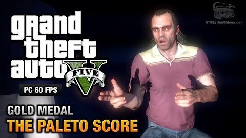 GTA 5 PC - Mission 52 - The Paleto Score Gold Medal Guide - 1080p 60fps