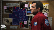 Michael in Bugstar uniform