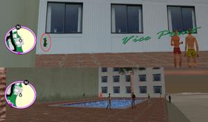 GTAVC HiddenPack 25 NW pool E WK Chariot Hotel