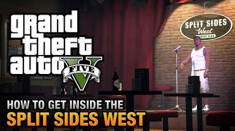 GTA Online - How to get inside the Split Sides West Comedy Club