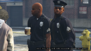 LSPD GTAVpc Foot Patrol Textile City