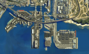 Port of South Los Santos Satellite