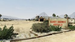 Sandy shores airfield 1