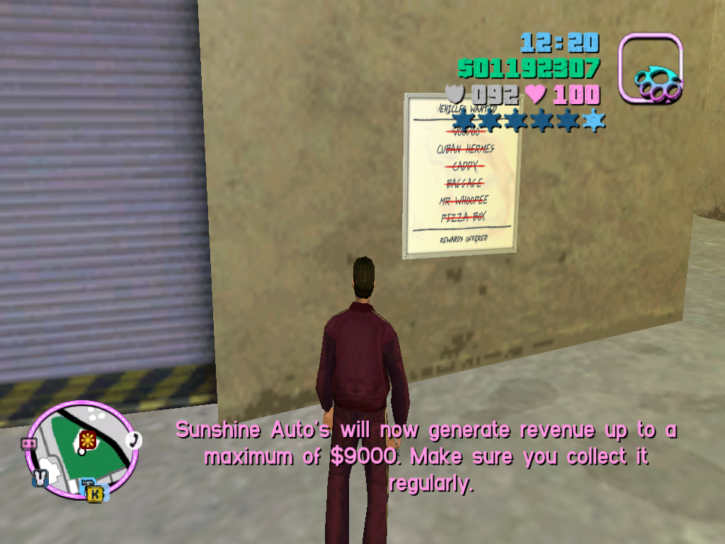 Gta Vice City Sunshine Autos Car List 2 idea gallery
