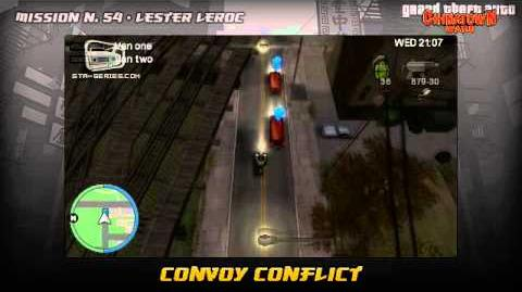 GTA Chinatown Wars - Walkthrough - Mission 54 - Convoy Conflict