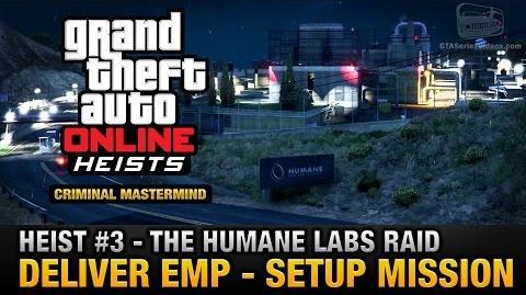 GTA Online Heist 3 - The Humane Labs Raid - Deliver EMP (Criminal Mastermind)