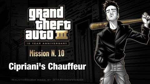 GTA 3 - iPad Walkthrough - Mission 10 - Cipriani's Chauffeur