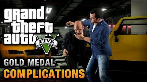 GTA 5 - Mission 3 - Complications 100% Gold Medal Walkthrough