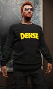 BlackDenseLogo-Sweater-GTAO
