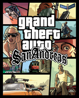 GTA San Andreas Box Art
