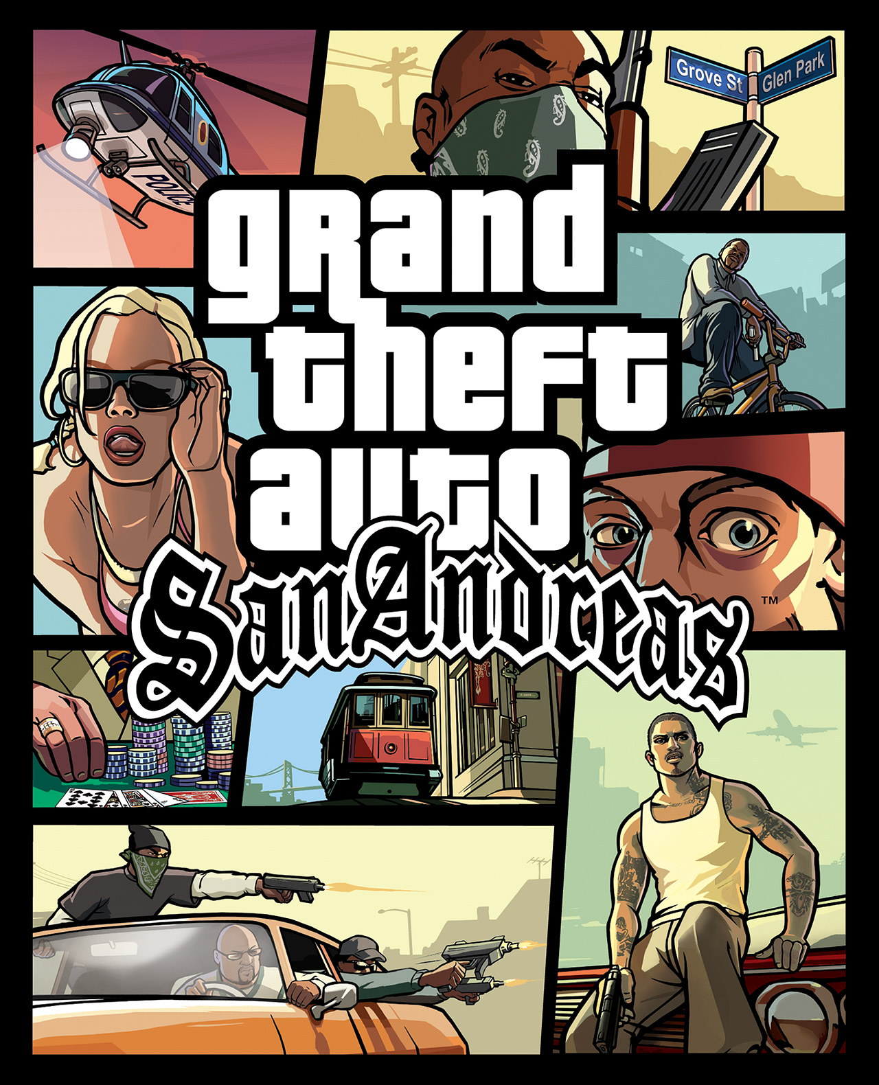 The Grand Theft Auto: San Andreas