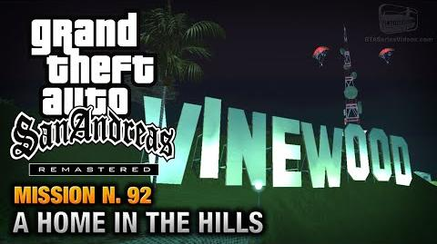 GTA San Andreas Remastered - Mission 92 - A Home In The Hills (Xbox 360 PS3)