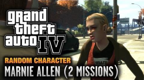 GTA 4 - Random Character 10 - Marnie Allen 2 Missions (1080p)