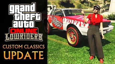 GTA Online Lowriders Custom Classics Update All DLC Contents