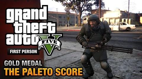 GTA 5 - Mission 52 - The Paleto Score First Person Gold Medal Guide - PS4