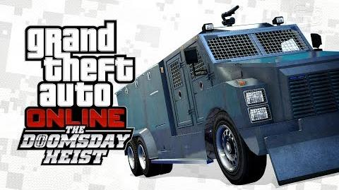 GTA Online - RCV Riot Van -The Doomsday Heist-