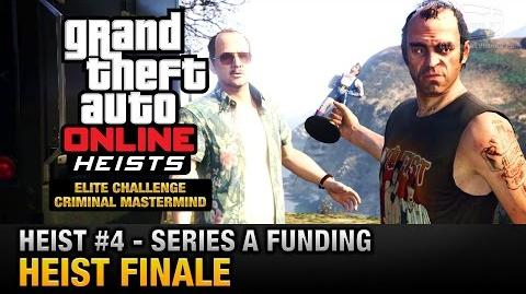GTA Online Heist 4 - Series A Funding - Heist Finale (Elite Challenge & Criminal Mastermind)