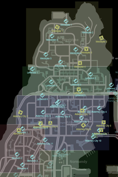 CollectiblesMap-GTAIV-AlderneyNorth