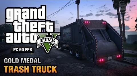 GTA 5 PC - Mission 37 - Trash Truck Gold Medal Guide - 1080p 60fps