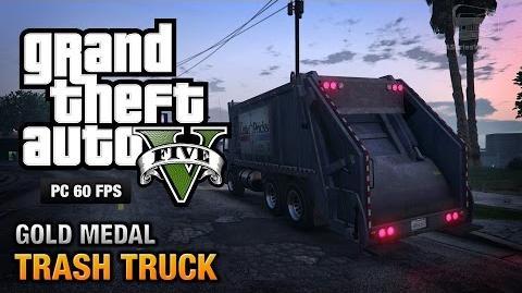 GTA 5 PC - Mission 37 - Trash Truck Gold Medal Guide - 1080p 60fps