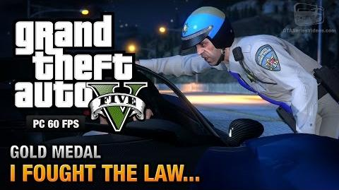 GTA 5 PC - Mission 41 - I Fought the Law... Gold Medal Guide - 1080p 60fps