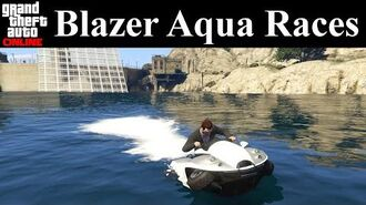 GTA Online Tracks - Blazer Aqua Races
