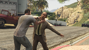 Nigel and Mrs Thornhill GTAV Mission Choke