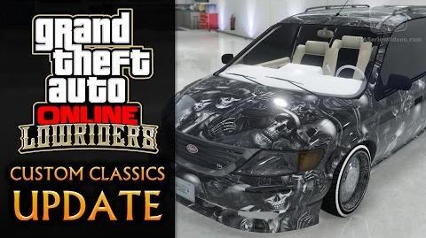 GTA Online Lowriders Custom Classics Update - Minivan