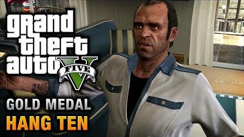 GTA 5 - Mission 55 - Hang Ten 100% Gold Medal Walkthrough